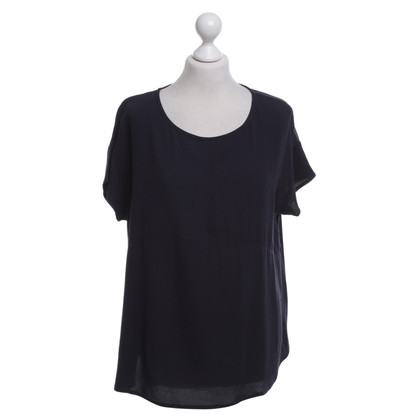 American Vintage Top in blu scuro