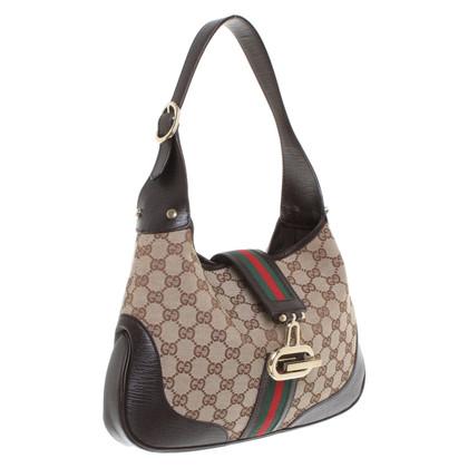 Gucci Handbag with Guccissima pattern