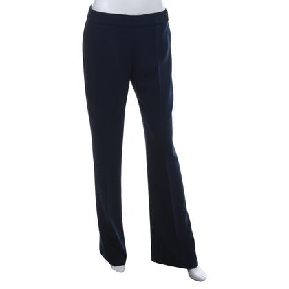 Elisabetta Franchi pantalone classico in blu