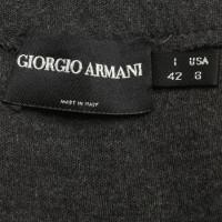 Giorgio Armani Wool skirt in dark gray