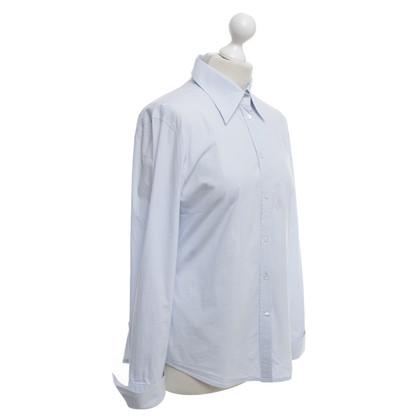 René Lezard Shirt blouse in light blue