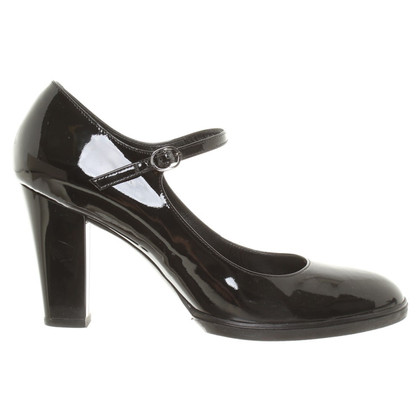 Hogan pumps in vernice nera