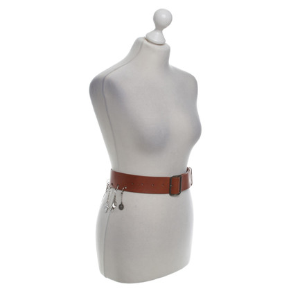 Jean Paul Gaultier Leather waist belt