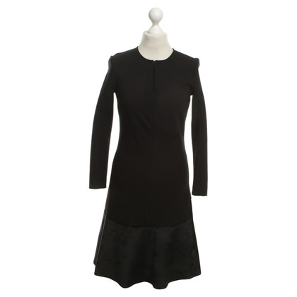 Schumacher Dress in black velvet