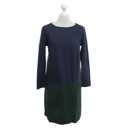 Cos Kleid in Grün/Blau