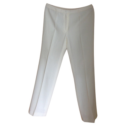 Escada trousers in woolen white
