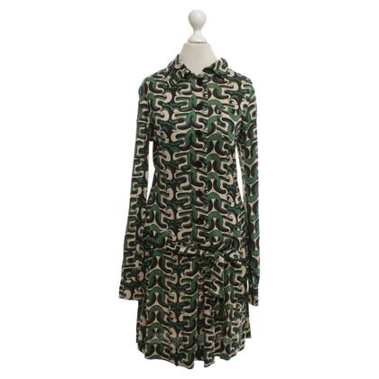 Diane von Furstenberg Silk dress with tie belt