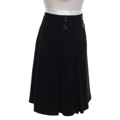 Karen Millen Jupe en noir / crème