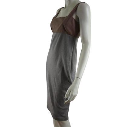 Ralph Lauren Suede with cashmere & silk dress