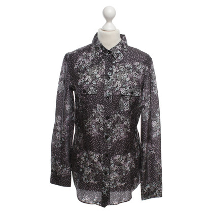 Strenesse Seidenbluse mit Muster
