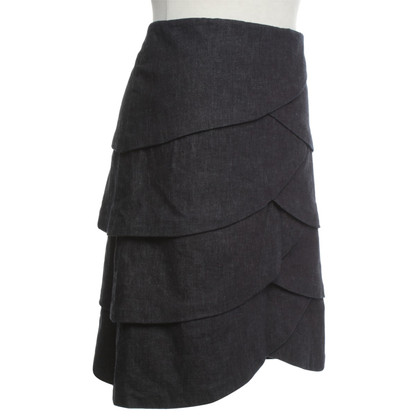Max & Co Denim skirt in dark blue