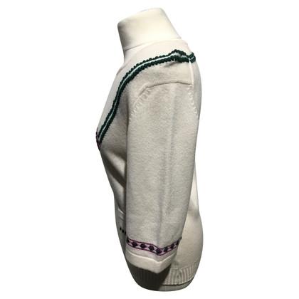 Chanel Maglia in cashmere con ricamo