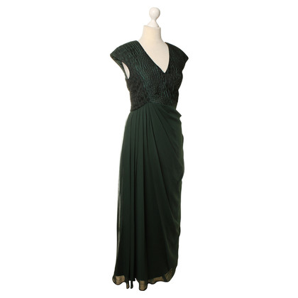 Badgley Mischka Kleid in Grün