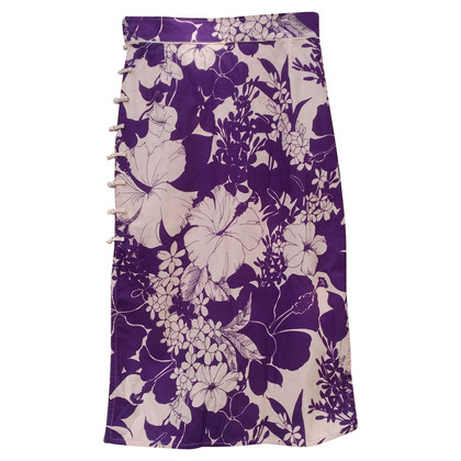 Miu Miu skirt with floral print
