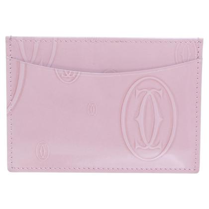 Cartier Titolare della carta in rosa chiaro