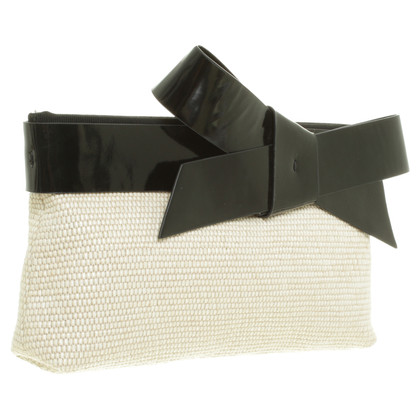 Paule Ka Clutch in Beige