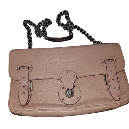 "Ralph Lauren ""Ricky Chain Bag"" made of crocodile leather"