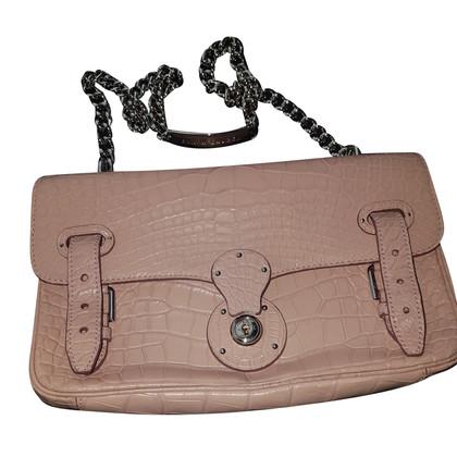 """Ralph Lauren """"Ricky Chain Bag"""" gemaakt van krokodillenleer"""
