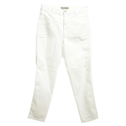 "Closed Jeans ""Pusher Pedal"" in bianco"