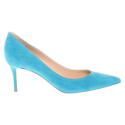 Gianvito Rossi pumps in turquoise