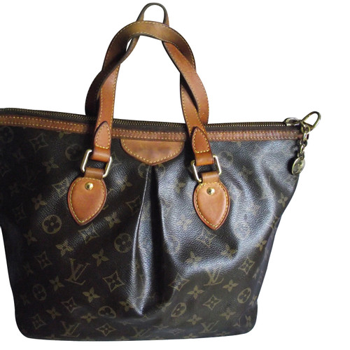 2210d3f6a4d0d Louis Vuitton Palermo Bag Canvas in Brown - Second Hand Louis ...