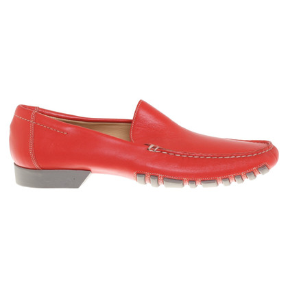 Bally Loafers in het rood