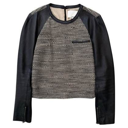 Phillip Lim Top en cuir