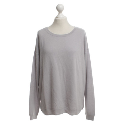 Allude Cashmere sweater in light gray