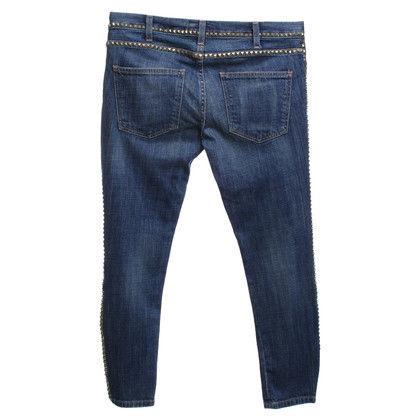 Current Elliott Skinny Jeans in Mittelblau