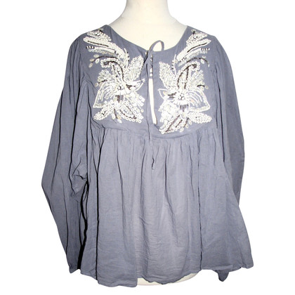 All Saints Blouse in blauw