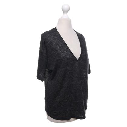 Isabel Marant T-shirt en gris foncé