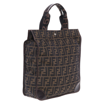 Fendi Tote Bag with Zucca pattern