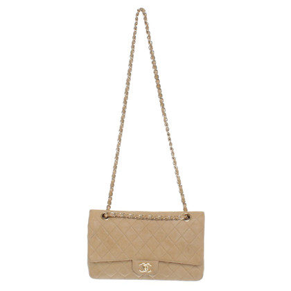 "Chanel ""Classic Double Flap Bag Medium"" in Beige"