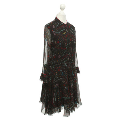 Zadig & Voltaire Silk dress with pattern
