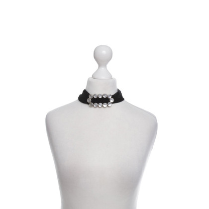 Yves Saint Laurent Collar Velvet