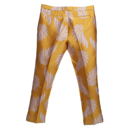 Dries van Noten Pantaloni in giallo/lilla
