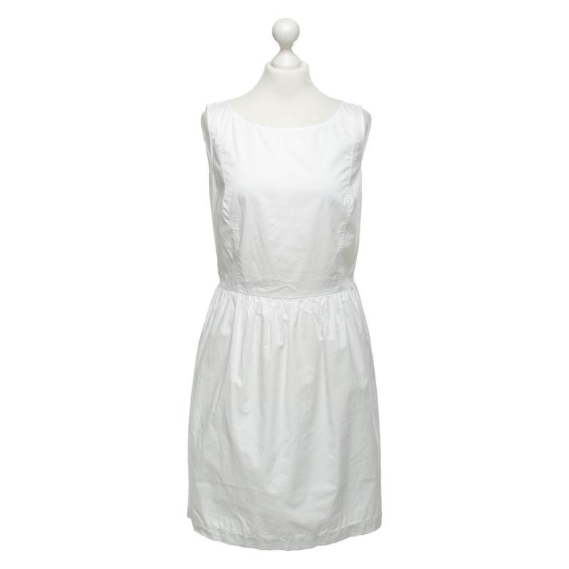 2bab7683fd5ac1 Kleid Second Weiß In Hand Stefanel Yfb7y6vg