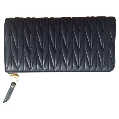 Miu Miu Wallet made of Matelassé leather