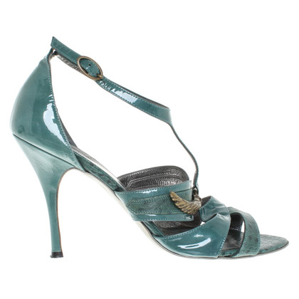 Just Cavalli Sandals in Green