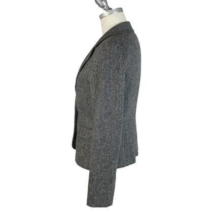 Max & Co Max & co wool tweed black gray blazer