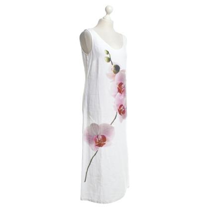 Marc Cain Linnen jurk in het wit