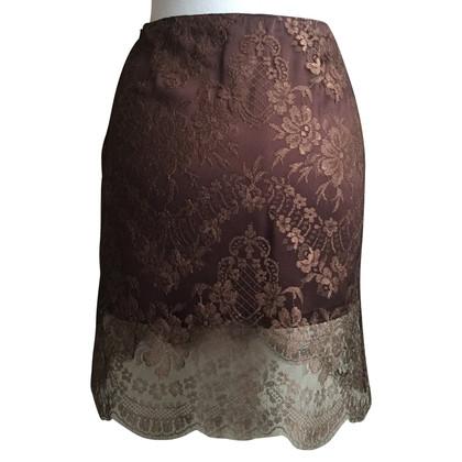 Blumarine Lace skirt