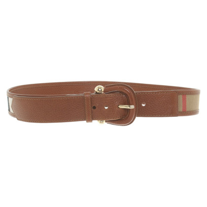 Burberry Belt with pattern