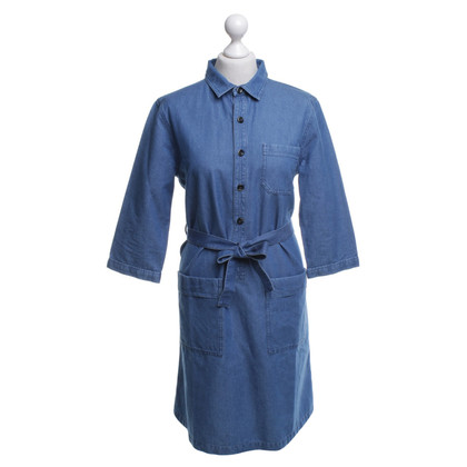A.P.C. Jean Dress in Blue