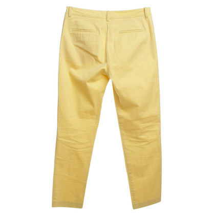 Stefanel Pants in Yellow
