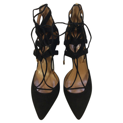 Aquazzura lacets pumps