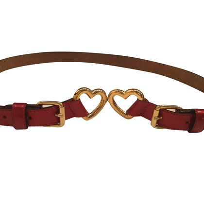 Moschino Belt with hearts