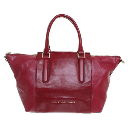 Marc by Marc Jacobs Red leather shopper