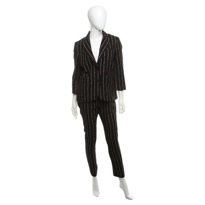 Manoush Trouser suit with striped pattern
