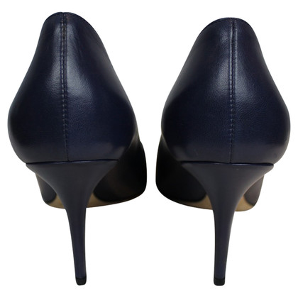 Christian Dior Blue leather pumps